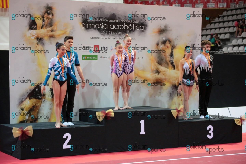 Galería Fotográfica Campeonato de España ACRO Vigo 16-06-18 Entrega de Medallas