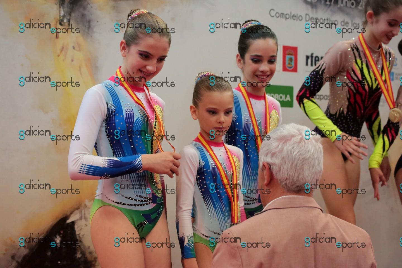Galería Fotográfica Campeonato de España ACRO Vigo 17-06-18 (Entrega de Medallas)