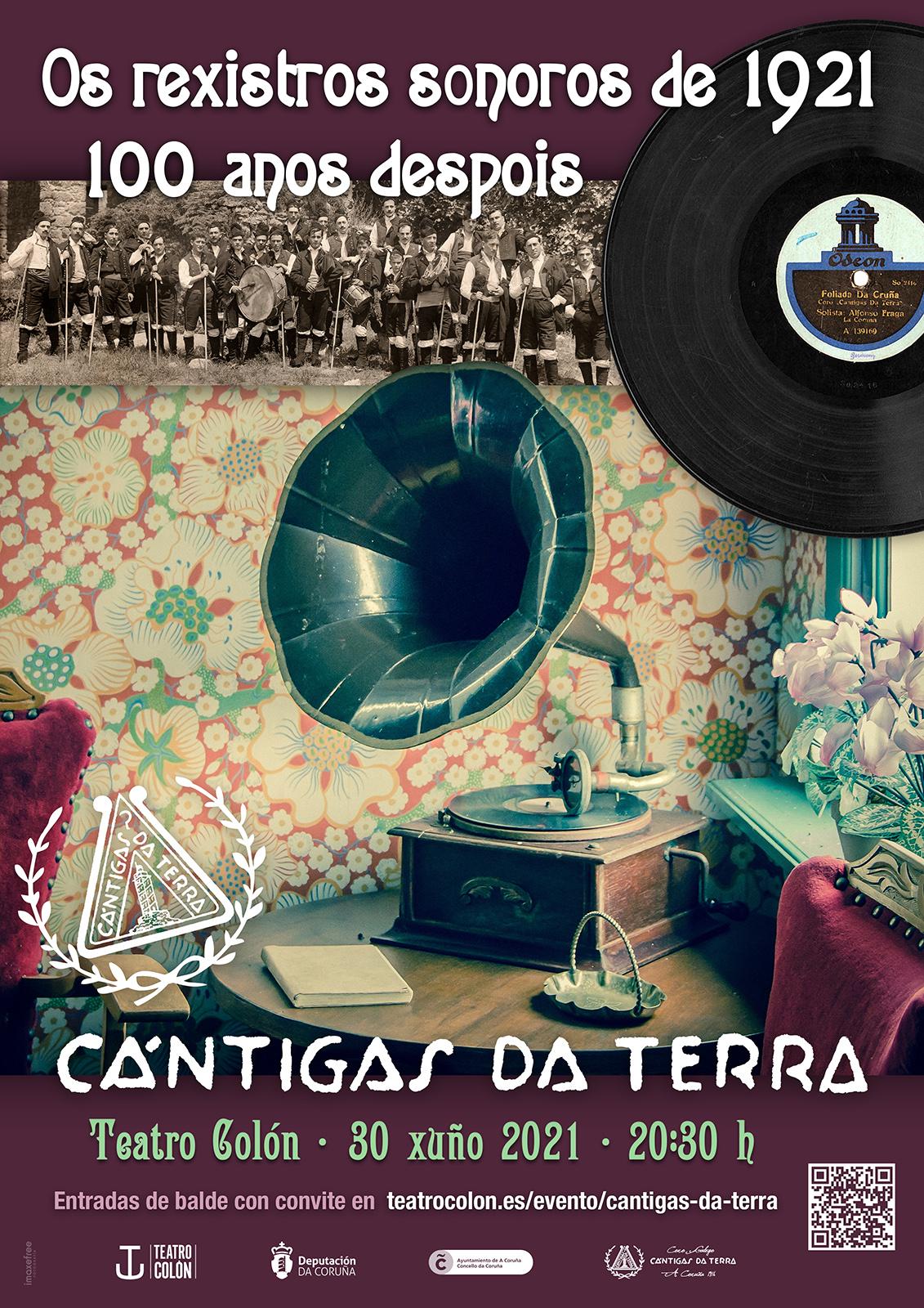 Os rexistros sonoros de 1921 | 100 anos despois
